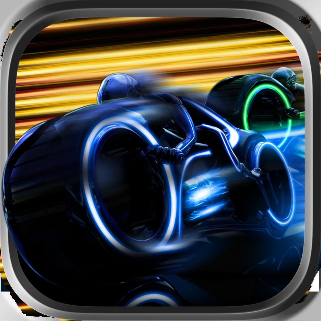 A Super Fast Neon Bike Race 2020